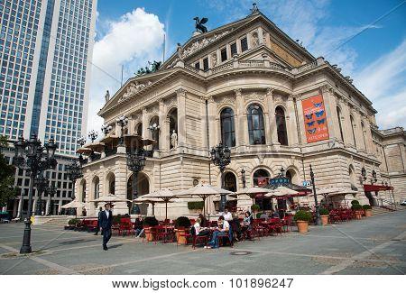 Frankfurt Old  Opera House, Germany