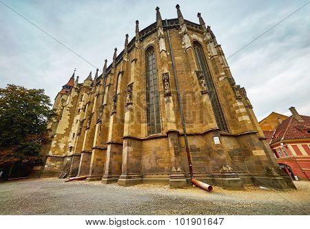 Black Church In Brasov