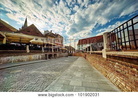 Small Square In Sibiu