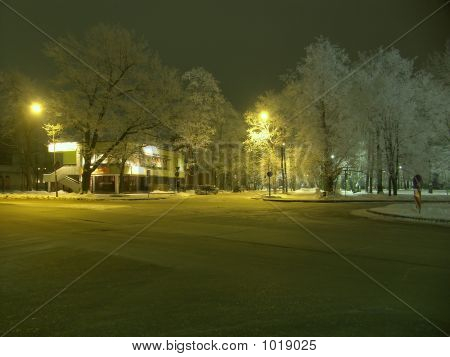 poster of Winter City In A Snow