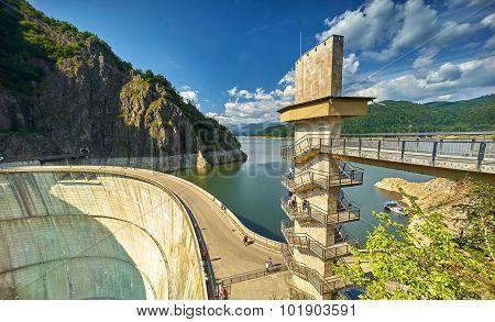 Vidraru Dam And Lake