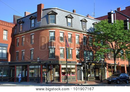 Lowell Historic Downtown, Massachusetts, USA