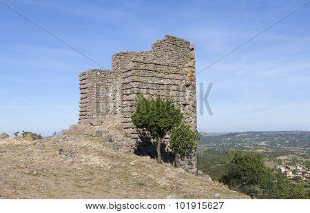 Hellenistic tower. Troya. Turkey.