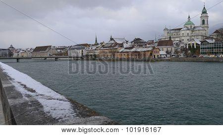 Aare River Solothurn - Switzerland