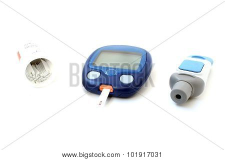 The Meter And Test Strips