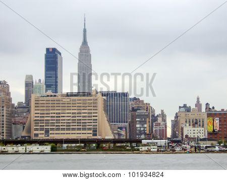 Residential Buildings In Midtown Manhattan