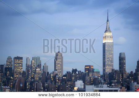 Empire State Building In Manhattan
