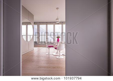 Luxury Interior With Huge Window