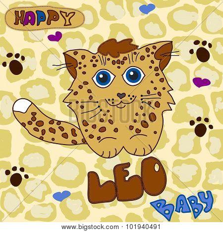 Little Baby Leopard
