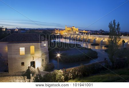 Watermill And Mosque, Cordoba