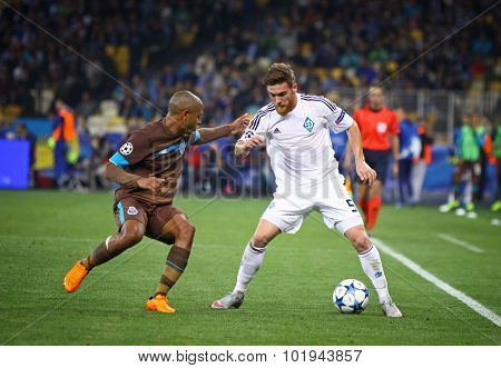 Uefa Champions League Game Dynamo Kyiv Vs Porto