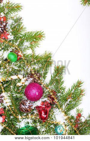 Christmas Background. Eve Framework