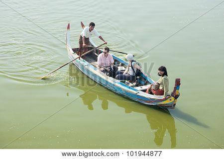 Trip On Ayeyarwady River