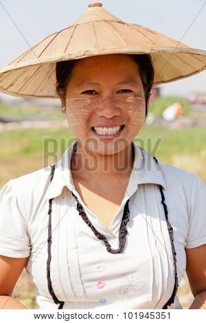 Burmese Woman Portrait