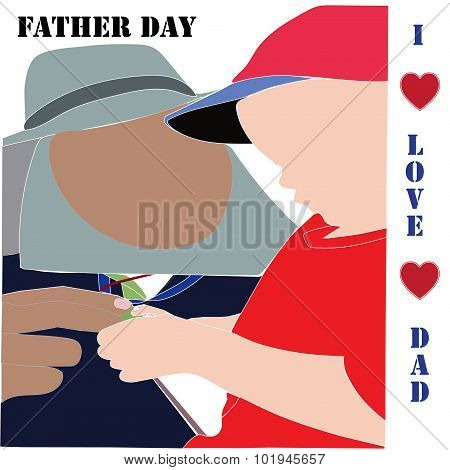 Fathere Day I Love Dad