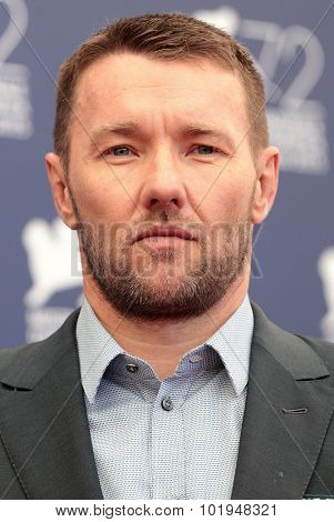 Joel Edgerton at the photocall for Black Mass at the 2015 Venice Film Festival.