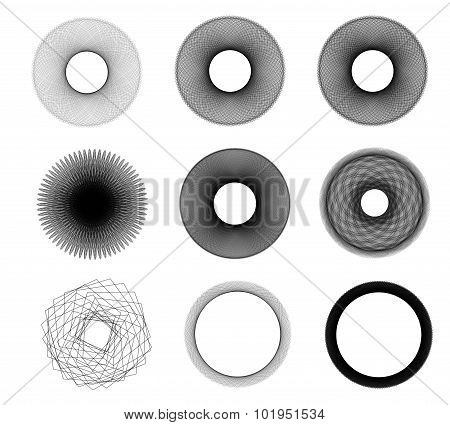 Abstract Spherical Shapes