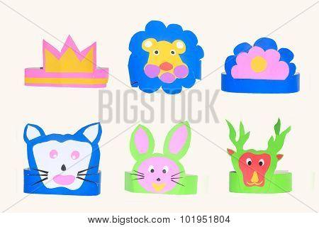 set of animal masks for Storytelling.