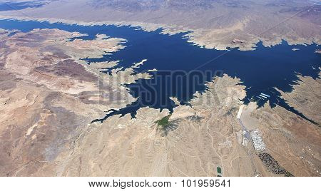 Lake Mead, Colorado Grand Canyon, Arizona, Usa