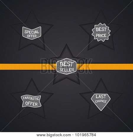 Sale badge design