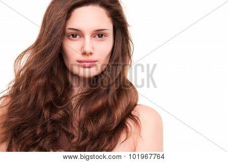 Shiny Healthy Hair.