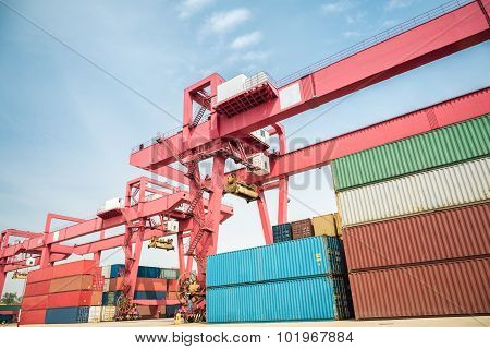 Container Freight Yard