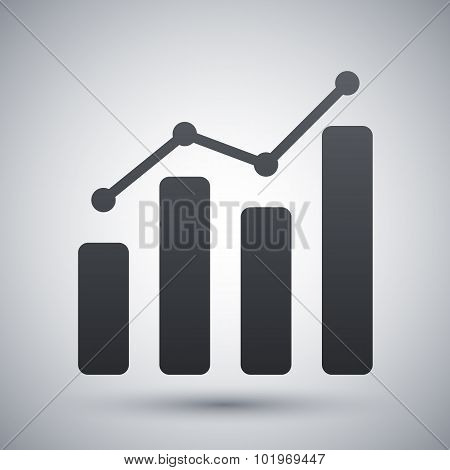 Vector Business Graph Icon