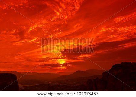 Meteora overlook