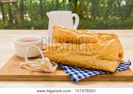 Snack With Tea / Snack With Tea Background