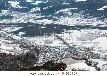 Alpine Town, Northern Italy