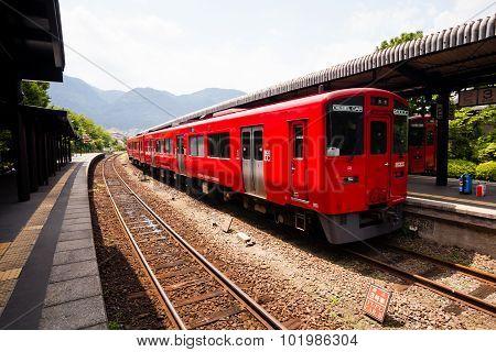 Japanese Local Train.