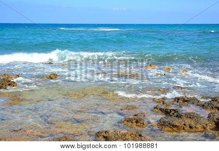 Blue Sky And Seascape.