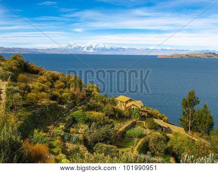 Island of the Sun and Titicaca Lake
