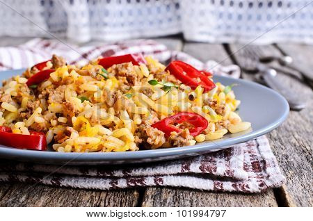 Rice With Minced Meat