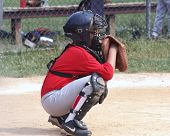 pic of little-league  - youth baseball player in catcher - JPG