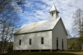 Cades Cove  1902 Methodist Church 3
