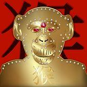 Постер, плакат: Monkey Symbol 2016
