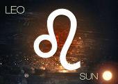 Постер, плакат: Zodiac sign Leo