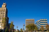 picture of asheville  - Historical architecture in downtown Asheville North Carolina - JPG