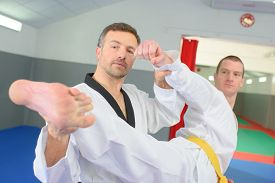 image of judo  - Judo teacher - JPG