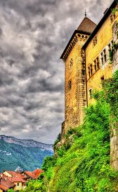 image of annecy  - View of the castle of Annecy  - JPG