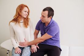 pic of groping  - husband pregnant wife groped in doctor - JPG