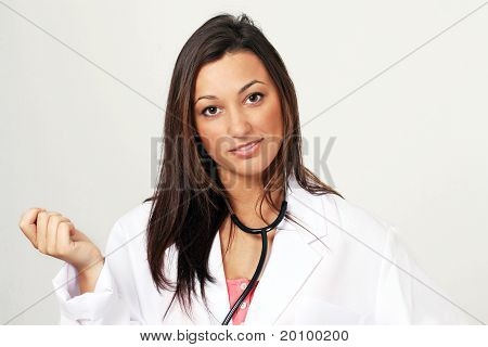 Pretty medical doctor