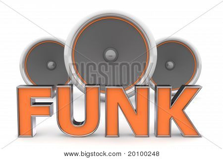 Speakers Funk - Orange