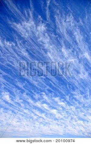 Unique Cloud Strokes in the Sky