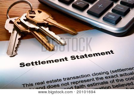 Real Estate Seller Settlement Statement