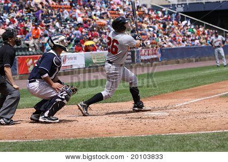 Indianapolis Indians first baseman Matt Hague