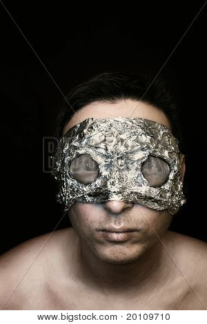 creepy guy in mask