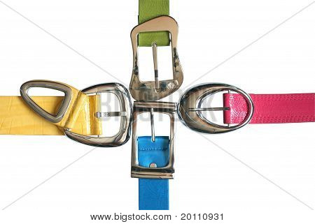 Colored Belts Set