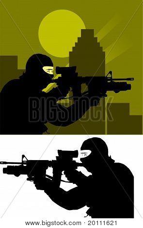 Sniper policial